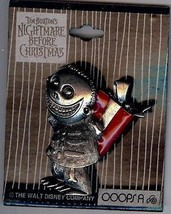 Barrel holding Red Present Nightmare Before Christmas Authentic Disney Pin - $69.98