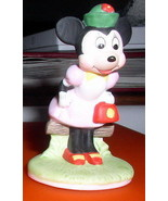 Disney  Minnie Mouse Procelain Miniature Figure - $24.99