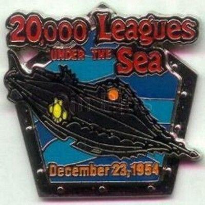 Disney 20,000 Leagues Under The Sea Nautilus Pin/Pins