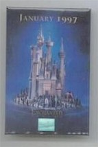 Disney WDCC Enchanted Castle dated 1997 event button has scuffing on this Pin - $9.99