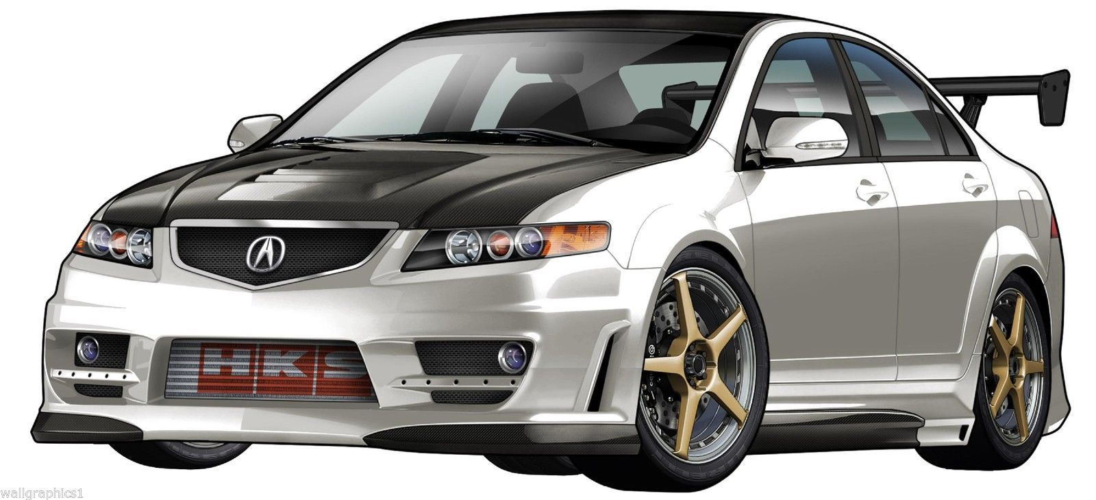 Acura Decal Listings - Acura decals
