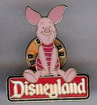 Piglet Character Sign Authentic Disney Disneyland Pin No card - $19.34