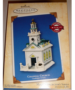 2004 Hallmark ~ Colonial Church Candlelight Services ~ #7 in - $30.00