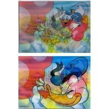 Tokyo Disneyland Donald Duck 3d Lenticular post card Japan - $30.95