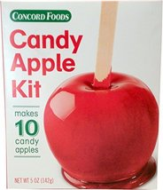 3 (three) Concord Foods Candy Apple Kits - Each kit makes 10 Candy Apple... - $18.99