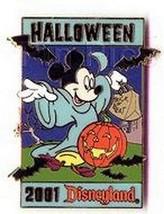 Disneyland Halloween Mickey Jack - o - Lantern w/ Bats  pin/pins - $29.99