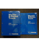 2008 Mazda B-Series Truck Service Repair Shop Manual SET FACTORY OEM BOO... - $138.54