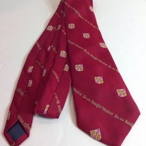 Vtg You Are Beautiful Maryland Necktie Tie Tourist Souvenir Red Schreter - $29.21