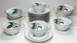 10 sets MINT Craftsman China Imperial Cup and Saucer Set  #168 JAPAN - $47.51