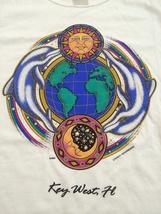Key West, Florida Very Cool T-Shirt Sz Medium  Dolphins!  Great Eye Catcher!! - $15.98