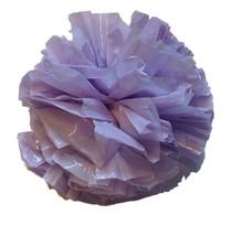 "25 Car Limo wedding Decoration Plastic Pom Poms Flower 4"" - lavender - $4.94"
