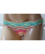 NWT NEW O'Neill Cheeky Coverage Sunset Basic Swim Bikini Bottom Multi Si... - $15.99