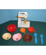 Vintage Fisher Price Fun-with-Food #2114 Mixing... - $58.00