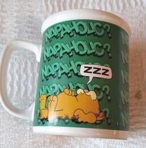 Garfield Napaholic? Vintage Mug Enesco - $5.95