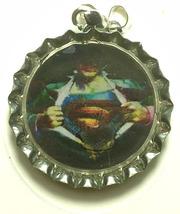 Superman Coke Sprite Diet pepsi & more Soda beer cap Keychain image 3