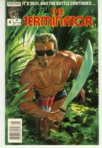 TERMINATOR #4 (Now Comics) - $1.00