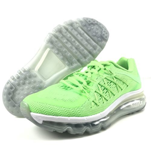 9f364285c9 12. 12. Previous. Nike Air Max 2015 Size 6.5 Women's 5Y Big Kid GS Voltage  Green White 705457 New