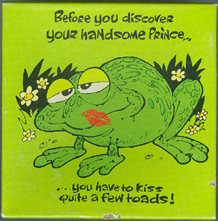 Primary image for Frog or Toad jigsaw puzzle - Hallmark 1977 70 pc