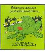 Frog or Toad jigsaw puzzle - Hallmark 1977 70 pc - $2.25