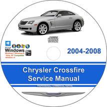 Chrysler Crossfire 2004 2005 2006 2007 2008 Factory Service Repair Manual - $15.00