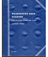 Washington Head Quarters Collection Starting 1960 Book 3 -Whitman Book n... - $3.25