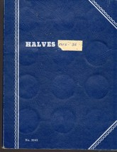Halves -Whitman Blank Book Half Dollar Trifold Book - $4.50