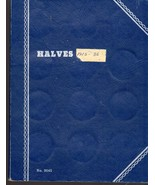 Halves -Whitman Blank Book Half Dollar Trifold Book - $3.25