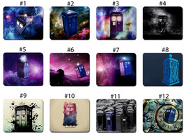 Doctor Who TARDIS in Space Police Call Box Mouse Pad Mat 12 Great Design - $7.90