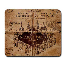 Harry Potter inspired Marauders Map Mouse Pad Mat FREE SHIPPING - $7.90