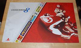 "MarioKart 8 Wii U Pre-order Promo Poster 17""X11"" 2014 Nintendo Luigi Yoshi - $8.15"