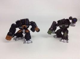 LOT (2) Hasbro Transformers Robot Heroes Movie Series Figures Ironhide V... - $10.84