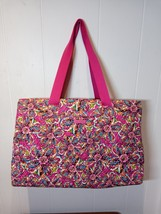 New Vera Bradley Triple Compartment Travel Bag in Sunburst Floral - $85.00
