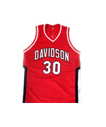 Stephen Curry #30 Davidson College Wildcats Basketball Jersey Red Any Size - $34.99