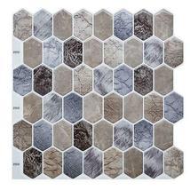 "(Ship from USA)Cocotik 12""x12"" Self Adhesive Peel Mosaic Wall Vinyl Backsplash S image 6"