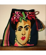 Authentic 100% Wayuu Mochila Colombian Bag Large Sz Special Frida K Mexican - $150.00