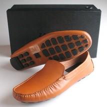 ZANZARA Mens Cognac Picasso II Slip-On Loafers Casual Dress Driver Shoes NIB