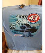 Richard Petty #43 Dodge on a Petty Blue Extra Large (XL) Tee Shirt - $24.00