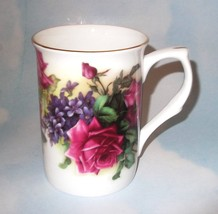Stechcol Gracie Bone China Floral  Rose & Flower  Cup/Tea/Mug NWOT - $9.90