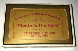 SEALED 1988 COCA-COLA Picnic in the Park 47/144 Playing Cards VHTF low n... - $56.09