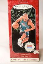 Hallmark: Grant HIll - Hoop Stars - Series 4th - 1998 - Holiday Ornament - $9.67