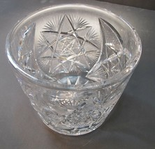 ABP cut glass ice tub Antique crystal Made in USA - $92.22