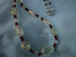 Austrian Cut Crystal Necklace  - $40.00
