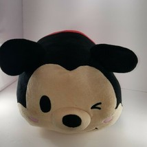 "Disney Tsum Tsum Mickey Mouse Stackable 19"" Large Plush Pillow Stuffed A... - $19.79"