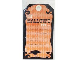 Cardstock Halloween Ephemera, Various Shapes and Sizes