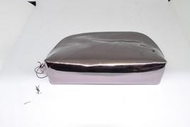8f2b46f42c YSL Yves Saint Laurent pink rose Makeup patent Bag Cosmetic Clutch Metal...  -