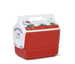 Hello Kitty Igloo Playmate Mini Cooler 4Qt Limited Edition New Rare Coll... - $84.14