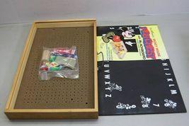 Rare Unused Vintage Disney Mickey Mouse Peg Chest Blackboard USA Made Schwab image 5