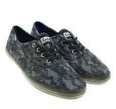 KEDS Champion Womens Black Lace Look Sneakers Size 6 - $32.80 CAD