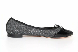 COLE HAAN SARINA BALLET WOMENS FLATS BLACK/WHITE CAP TOE BOW SIZE 9.5 B - £26.73 GBP