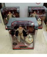 STAR WARS ELITE SERIES RED REY WITH LIGHTSABER AND BB-8 LOT OF 3 DIE CAS... - $59.39